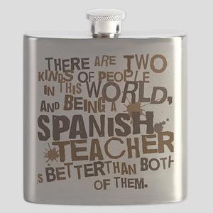 spanishteacherbrown Flask