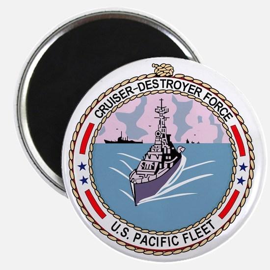 Cruiser Destroyer Force US Pacific Fleet Mi Magnet