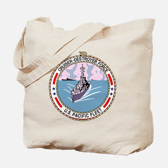 Cruiser Destroyer Force US Pacific Fleet  Tote Bag