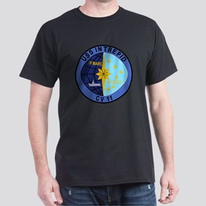 CV-11 USS INTREPID Multi-Purpose Airc Dark T-Shirt