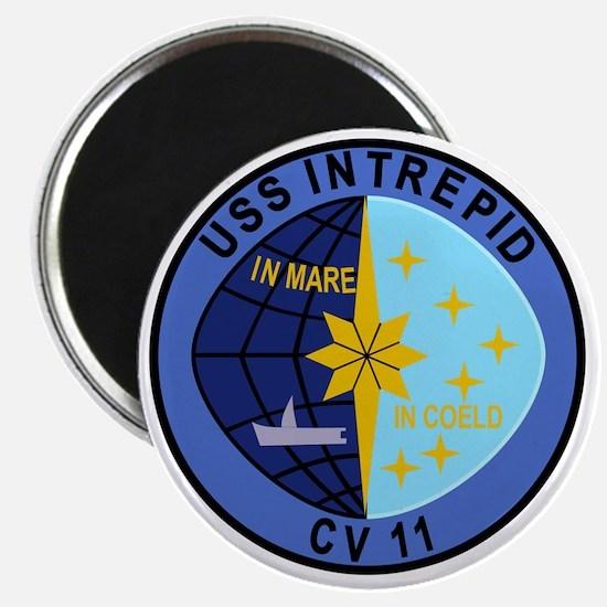 CV-11 USS INTREPID Multi-Purpose Aircraft C Magnet