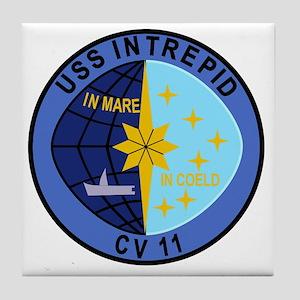 CV-11 USS INTREPID Multi-Purpose Airc Tile Coaster