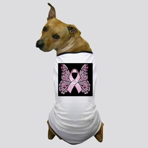 PinkHopeBflyMPB Dog T-Shirt