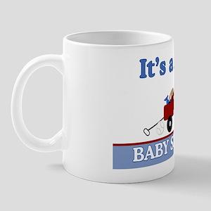 Its a Boy baby shower yard sign Mug