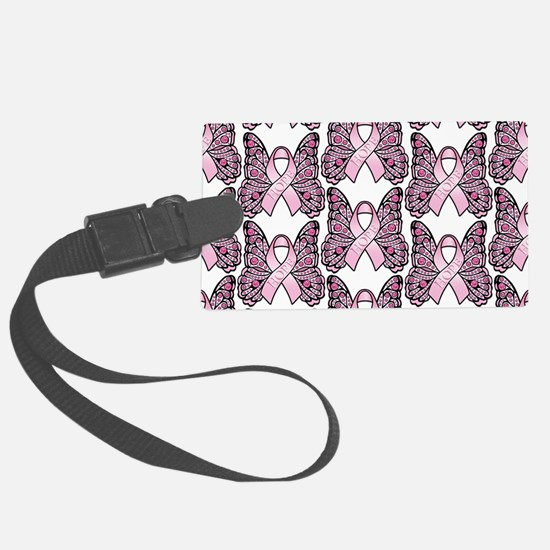 PinkHopeBttflyLaptopTR Luggage Tag