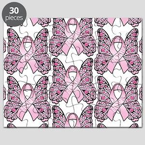 PinkHopeBttflyLaptopTR Puzzle