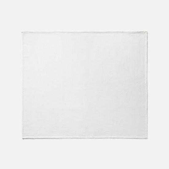 squashplayerwhite Throw Blanket