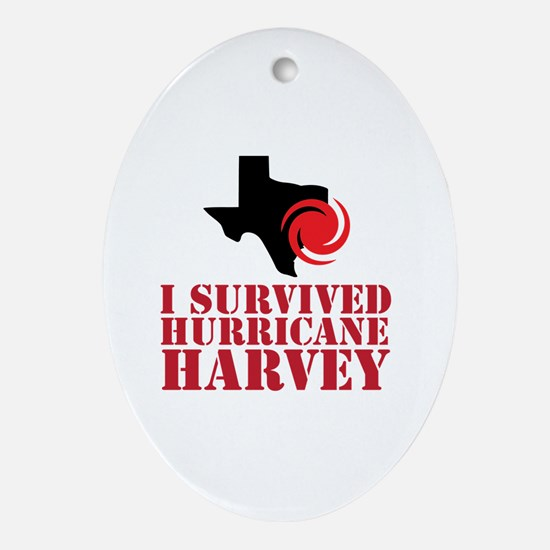 Funny Harvey Oval Ornament