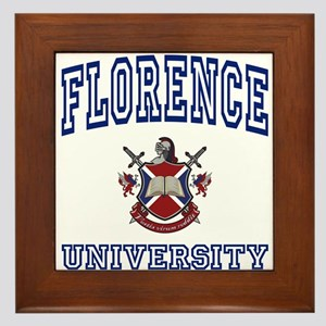 FLORENCE University Framed Tile