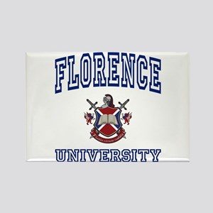 FLORENCE University Rectangle Magnet