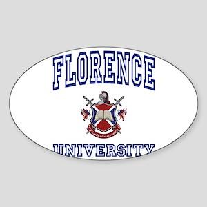 FLORENCE University Oval Sticker