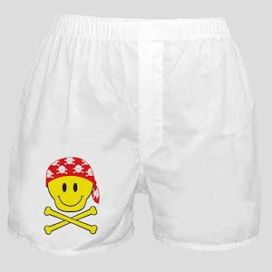 SmileySkullApart Boxer Shorts