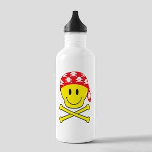 SmileySkullApart Stainless Water Bottle 1.0L