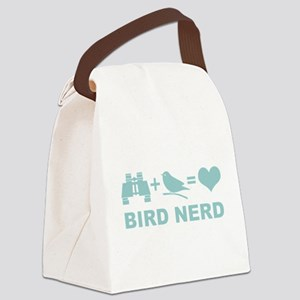 Bird Nerd Funny Birder Canvas Lunch Bag