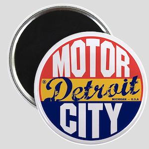 Detroit Vintage Label B Magnet