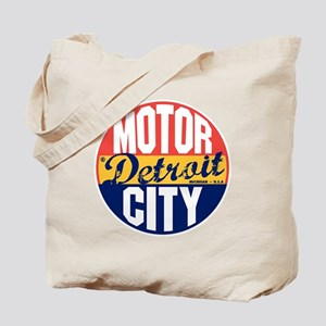 Detroit Vintage Label B Tote Bag