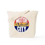 Detroit Tote Bags