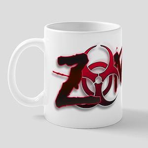 Zombie Biohazard Halloween Apocalypse Mug