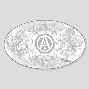 alf-blanc-06 Sticker (Oval)