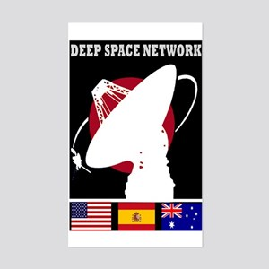 Deep Space Network Sticker (Rectangle)