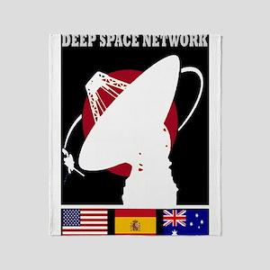 Deep Space Network Throw Blanket