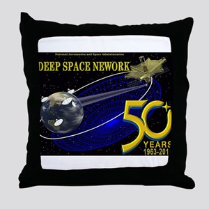 50 Years of DSN! Throw Pillow