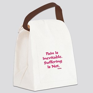 INEVITABLE AA BLACK TILE FORM Bla Canvas Lunch Bag