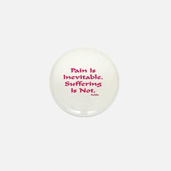 INEVITABLE AA BLACK TILE FORM Black Mini Button