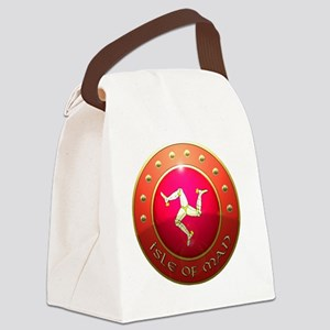 isle of man shield  Canvas Lunch Bag