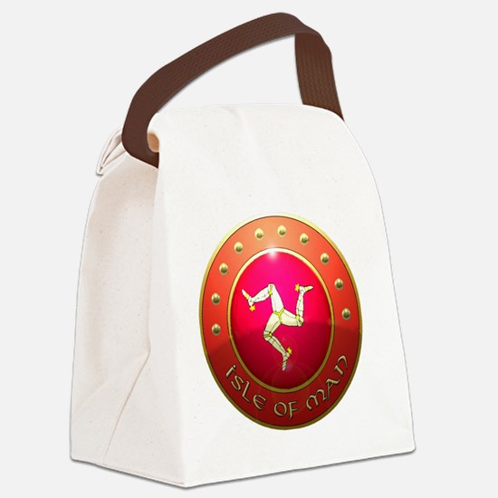 isle of man shield png Canvas Lunch Bag
