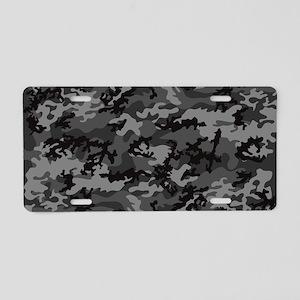 Laptop-Skins Aluminum License Plate