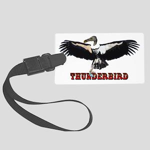 Thunderbird_v2 Large Luggage Tag