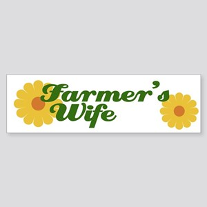 Farmer's Wife Bumper Sticker