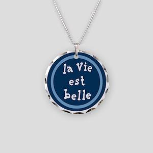 la_Via_est_Belle Necklace Circle Charm