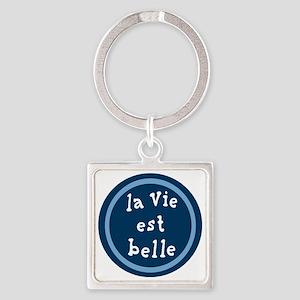 la_Via_est_Belle Square Keychain