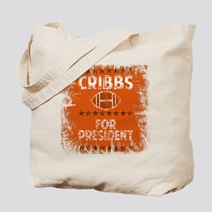 cribbs for pres shirt Tote Bag