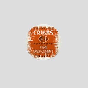 cribbs for pres shirt Mini Button