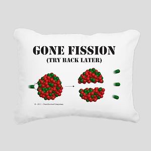 fission2 Rectangular Canvas Pillow