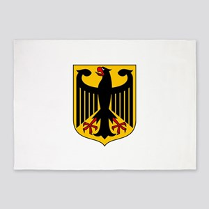 Coat of arms of Germany 5'x7'Area Rug