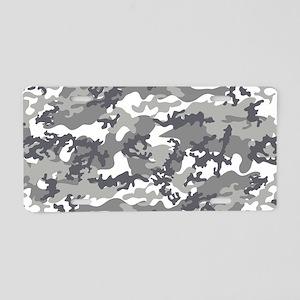 Toiletry-Bag Aluminum License Plate