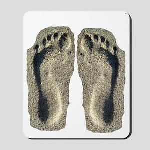 sand flip flops Mousepad