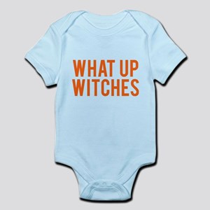 What Up Witches Halloween Body Suit