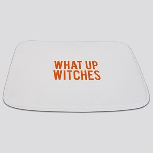 What Up Witches Halloween Bathmat