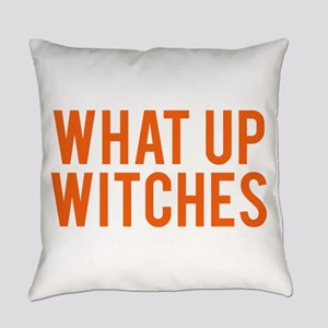 What Up Witches Halloween Everyday Pillow