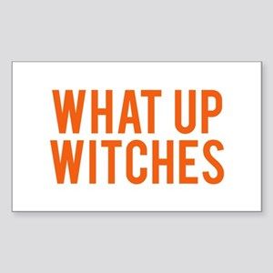 What Up Witches Halloween Sticker