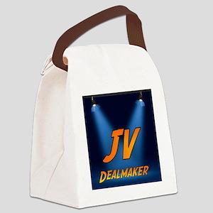 jvdealmaker-logo-600 Canvas Lunch Bag