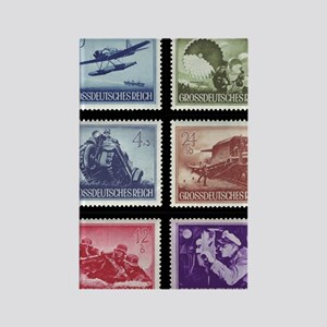 Wehrmacht Memorial Day stamps1944 Rectangle Magnet