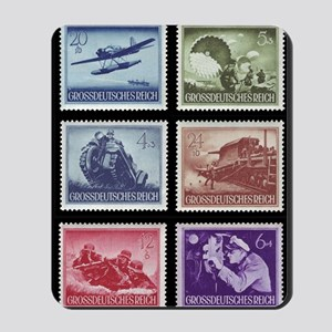 Wehrmacht Memorial Day stamps1944 Mousepad