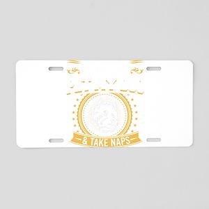 Westhighland terrier Westie Aluminum License Plate