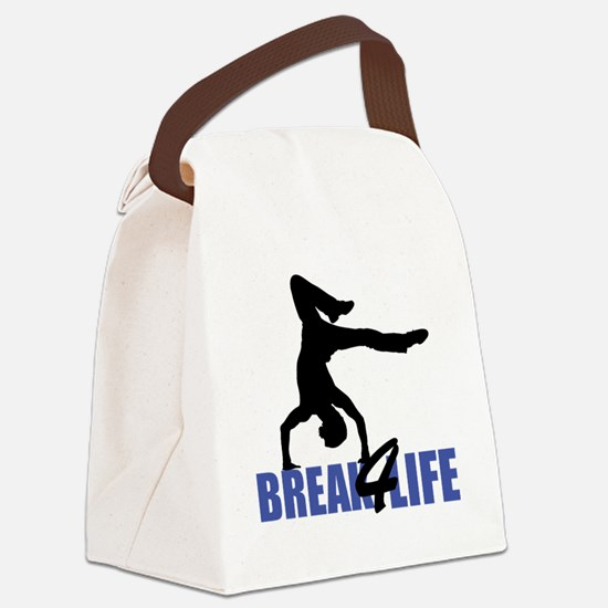 breakdance4life2 Canvas Lunch Bag
